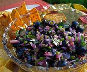 Post image for BLUEBERRY LIME SALSA