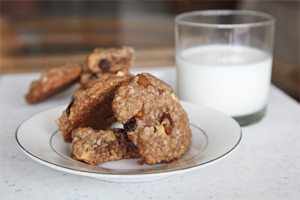 Post image for Rum Soaked Tropical Fruit Oatmeal Cookies and hanging out at Little Beach in Maui