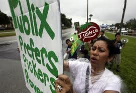 Post image for Immokalee workers fight Publix for fair wages